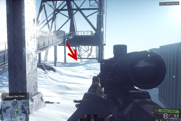 Dog Tag Shaw-Shanked Redemption location in mission 5 BattleField 4