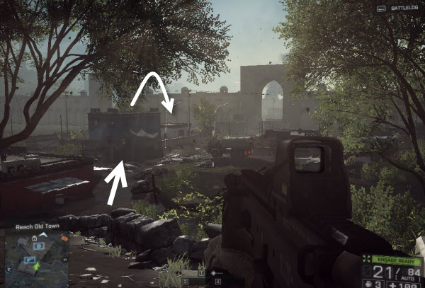 Weapon A 91 location in mission 6 BattleField 4