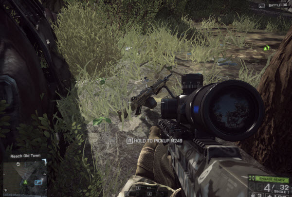 Weapon M249 location in mission 6 BattleField 4