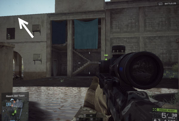 Weapon EAK - 971 location in mission 6 BattleField 4