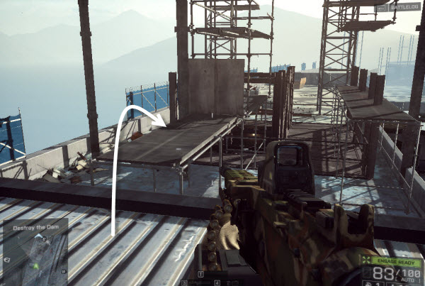 Dog Tag: Upstream Swimmer location in mission 6 BattleField 4
