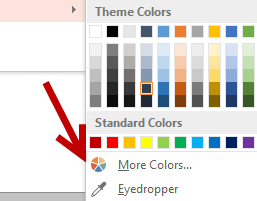 apply custom color to an object