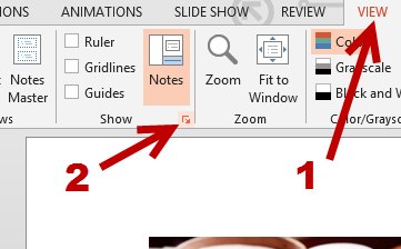 Go to PowerPoint -> View -> Show