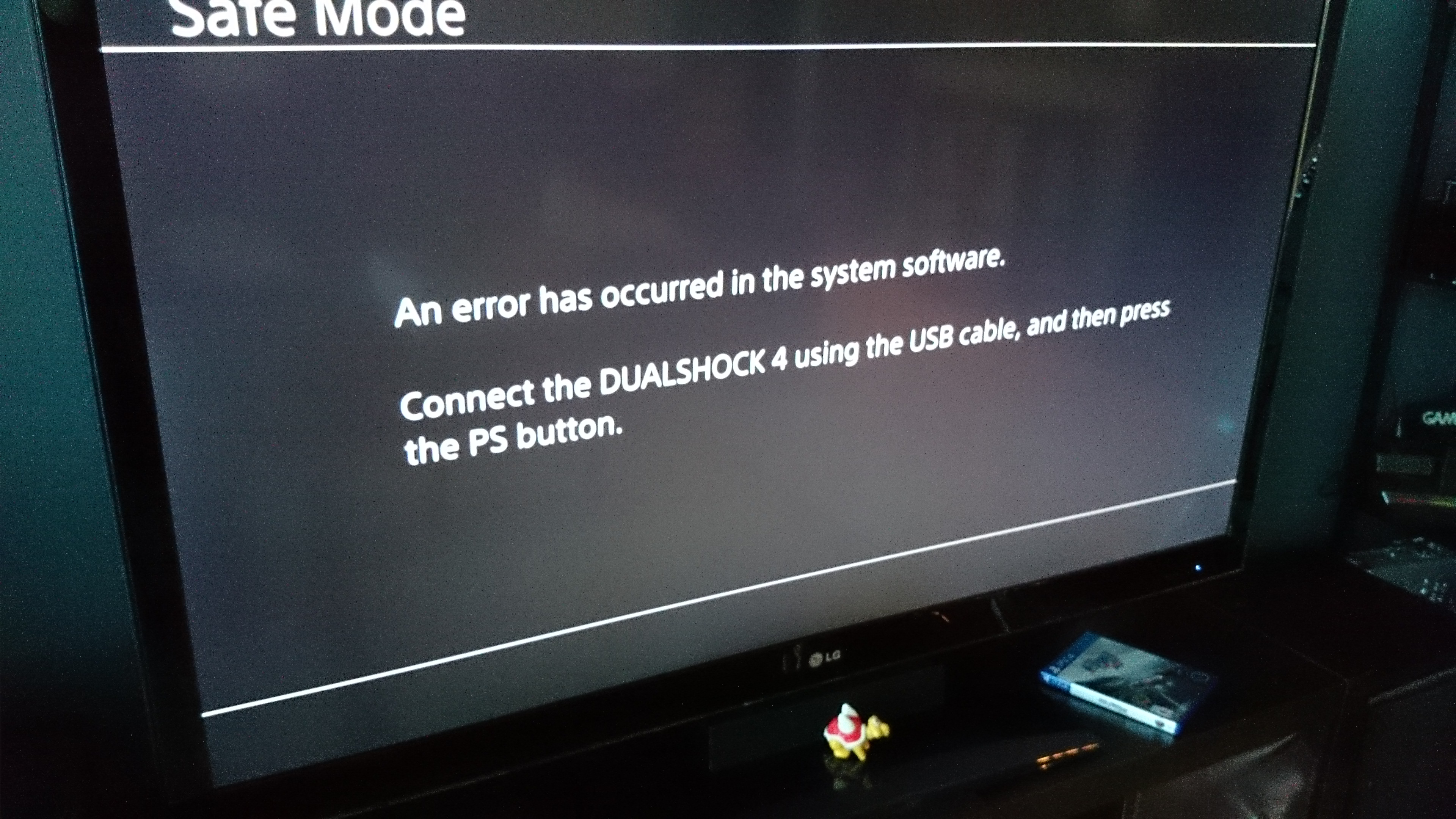 An Error Has Occurred Ps4 Update