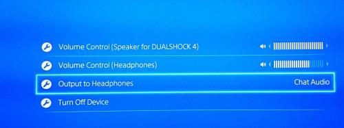 Audio-options
