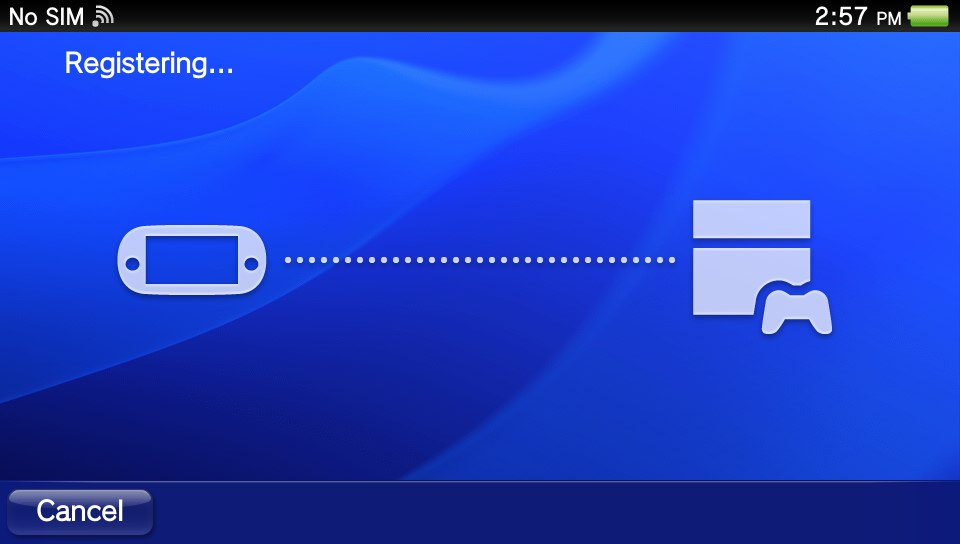 how to connect vita to ps4
