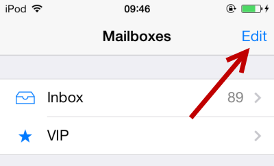 iOS 7 add unread flagged attachment filter in Mail