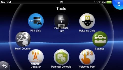 PSVItaHome-PS4 link