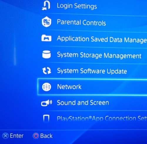 What WIFI is ps4 Foto