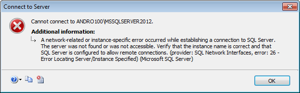 The SQL Server Browser service on Local Computer started and then stopped_6