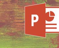 powerpoint grunge feature