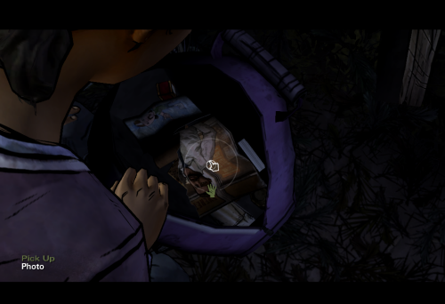 Helps Clementine fire the firecamp