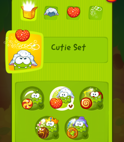 Cut the Rope 2 all characters unlocked