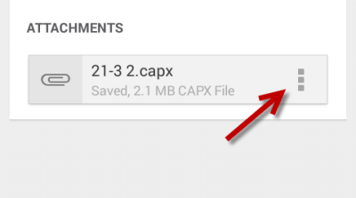 Download attachments in Gmail