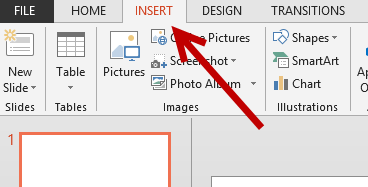 insert picture shape chart in powerpoint