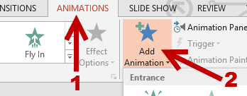 add animation to picture shape chart in powerpoint