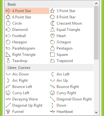 access predefined motion paths in powerpoint