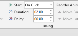 change animation duration in powerpoint