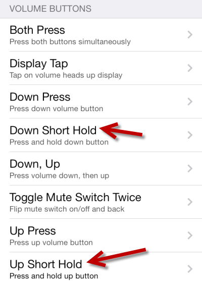 press volume down to return previous song on iPhone iPod