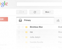 example of gmail screen