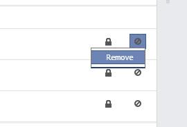 delete Facebook search history