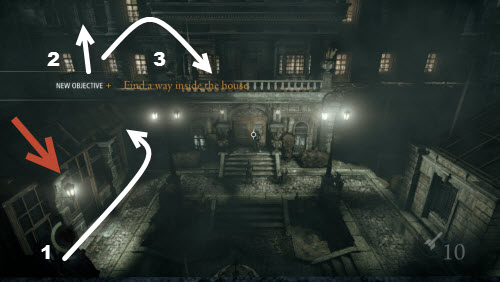 Thief 4 walkthrough for Chapter 4 A friend in Need