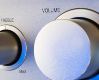 volume knob feature