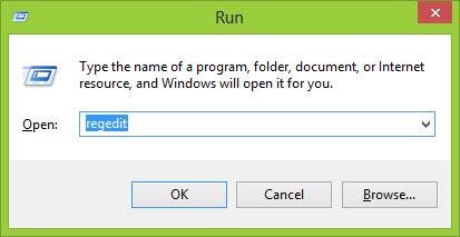launch Registry Editor