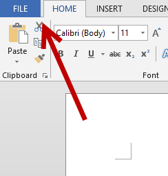 Word File Options