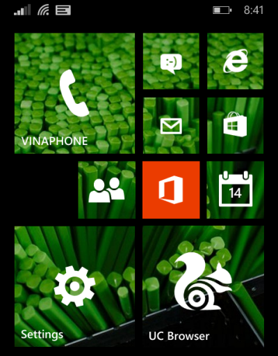 start screen background for windows phone 8