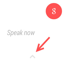activate Google Now Android Wear
