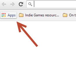 Access Google Chrome apps