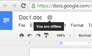 Edit Google Drive documents offline