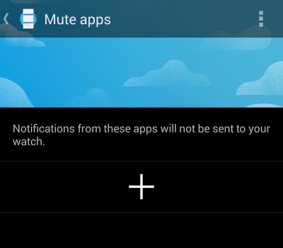 android wear disable app notification