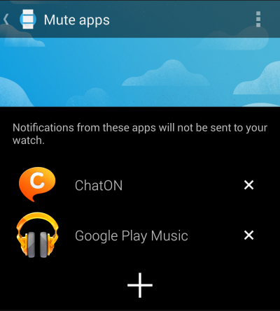 android wear disable notifications