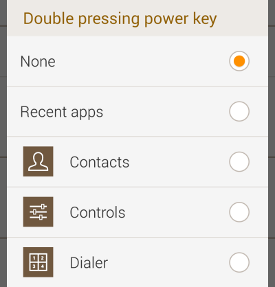 Gear 2 Double Press Setting