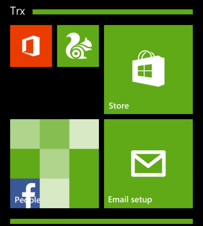 edit windows phone 8 folder