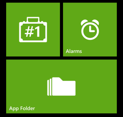 windows phone apps corner mode