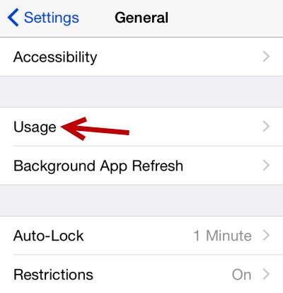 iOS app battery usage