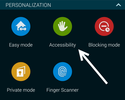 android accessibility