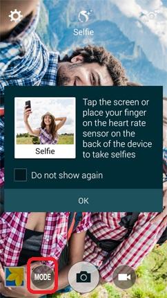 Camera Mode- Galaxy Note 4