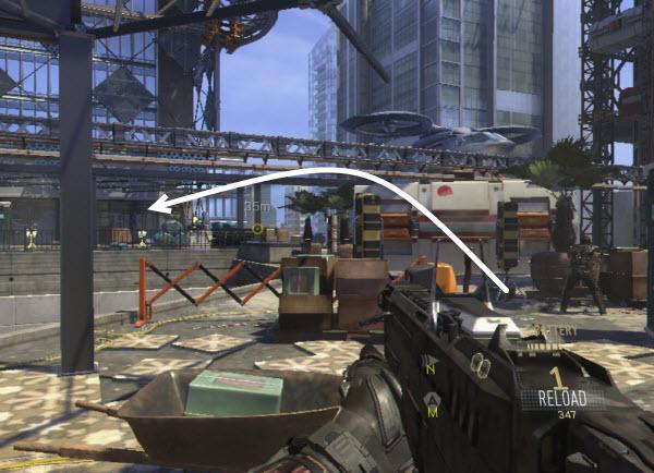 Call of duty advanced warfare intel locations in mission 6 manhunt