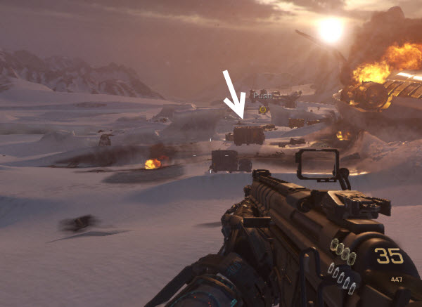 call of duty advanced warfare intel location 1