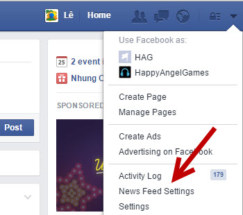 Facebook News Feed Settings