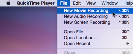 QuickTime record iOS screen