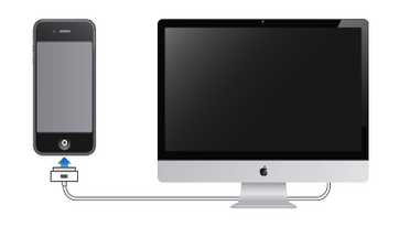 Connect Apple device to computer