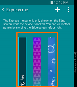 express me screens