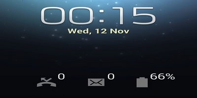 quick glance notification screen Samsung phone