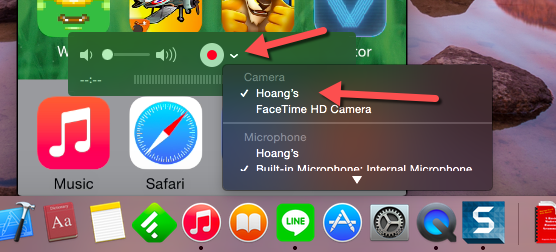 QuickTime iOS Screen