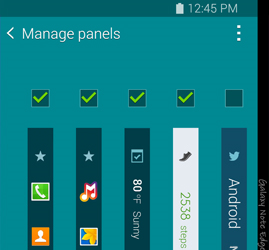 Note Edge - Display Panel